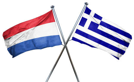 the netherlands: Netherlands flag combined with greek flag