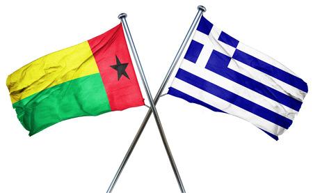 greek flag: Guinea bissau flag combined with greek flag