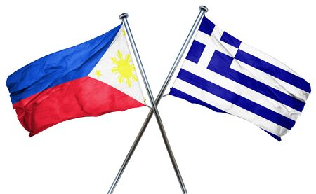 philippino: Philippines flag combined with greek flag