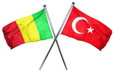 turkey flag: Mali flag combined with turkey flag