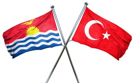 turkey flag: Kiribati flag combined with turkey flag