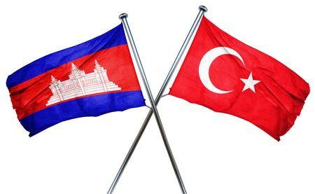 cambodia: Cambodia flag combined with turkey flag
