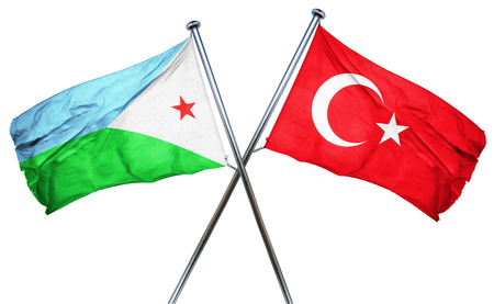 djibouti: Djibouti flag combined with turkey flag