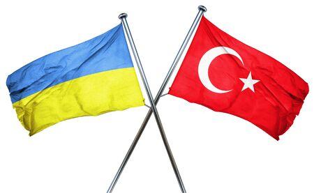 ukraine: Ukraine flag combined with turkey flag