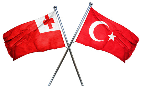 combined: Tonga flag combined with turkey flag