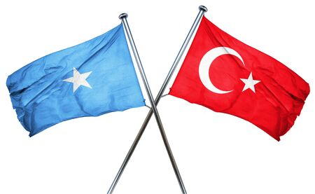 somalian culture: Somalia flag combined with turkey flag