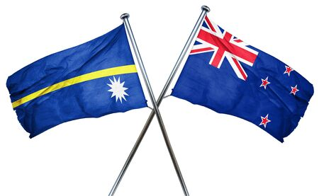 nauru: Nauru flag combined with new zealand flag