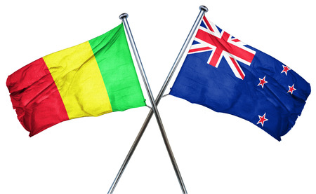 mali: Mali flag combined with new zealand flag