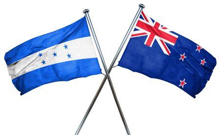 bandera honduras: bandera de Honduras combina con bandera de Nueva Zelanda