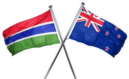 gambia: Gambia flag combined with new zealand flag