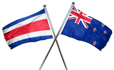 bandera de costa rica: bandera de Costa Rica combina con bandera de Nueva Zelanda