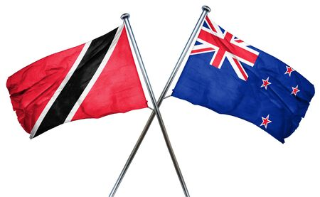 trinidad and tobago: Trinidad and tobago flag combined with new zealand flag