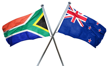 south africa flag: South africa flag combined with new zealand flag