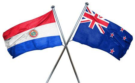 bandera de paraguay: bandera de Paraguay combina con bandera de Nueva Zelanda