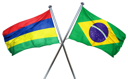 mauritius: Mauritius flag combined with brazil flag