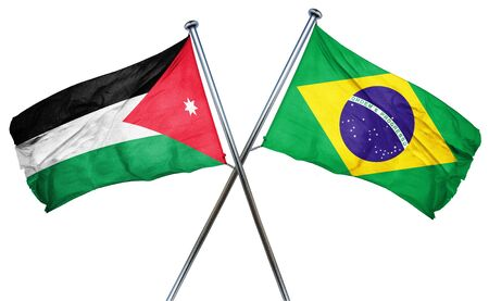 amity: Jordan flag combined with brazil flag