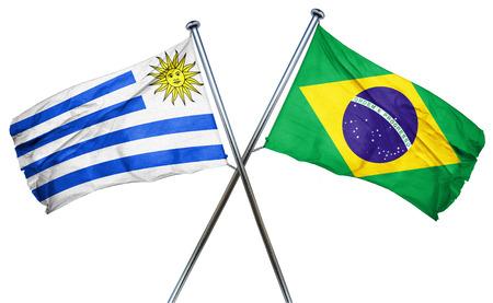 bandera de uruguay: bandera de Uruguay combinado con la bandera de Brasil