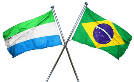 amity: Sierra Leone flag combined with brazil flag