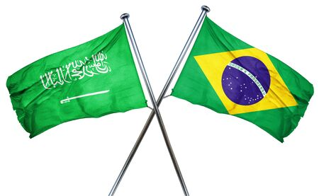 amity: Saudi Arabia flag combined with brazil flag