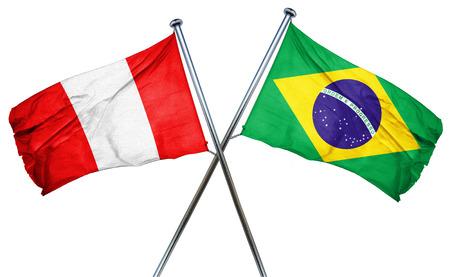 bandera de peru: bandera de Perú combinado con la bandera de Brasil