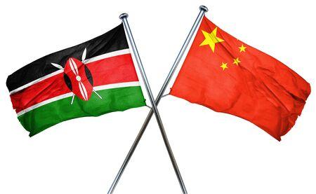 amity: Kenya flag combined with china flag
