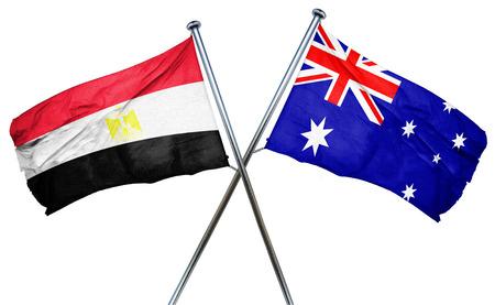 bandera egipto: bandera de Egipto combina con bandera australiana