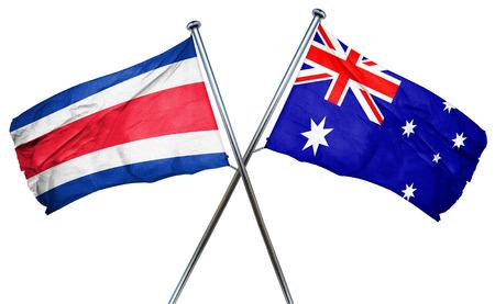 bandera de costa rica: bandera de Costa Rica combina con bandera australiana