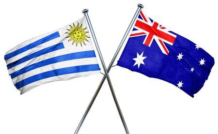 bandera uruguay: bandera de Uruguay combina con bandera australiana