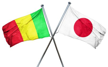 mali: Mali flag combined with japan flag