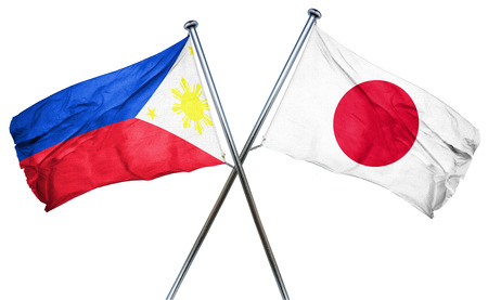 philippino: Philippines flag combined with japan flag