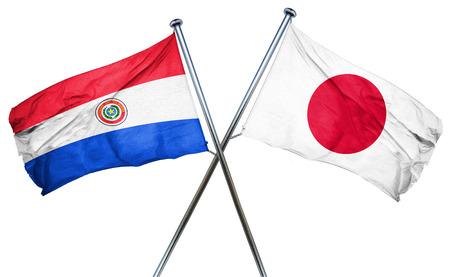 bandera de paraguay: bandera de Paraguay combinada con la bandera de Jap�n