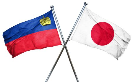 liechtenstein: Liechtenstein flag combined with japan flag