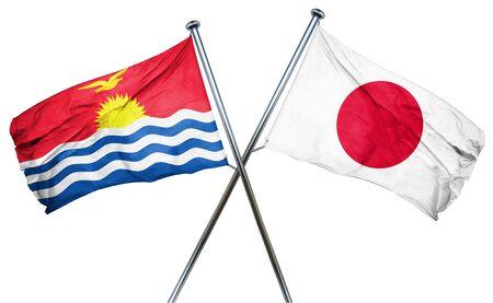 kiribati: Kiribati flag combined with japan flag