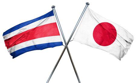 bandera de costa rica: bandera de Costa Rica combinado con la bandera de Japón