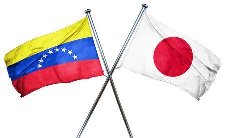 venezuela flag: bandera de Venezuela combinado con la bandera de Jap�n