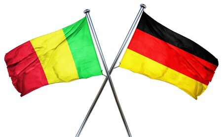 mali: Mali flag combined with germany flag