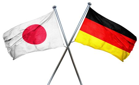 treaty: Japan flag combined with germany flag