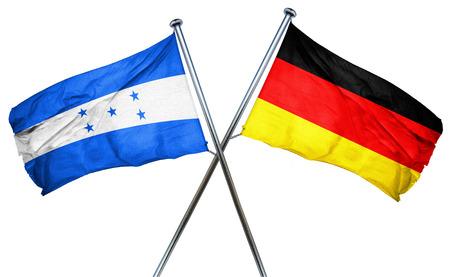 bandera de honduras: bandera de Honduras en combinaci�n con el indicador de Alemania