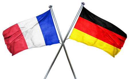 germany flag: France flag combined with germany flag