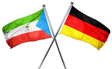 equatorial guinea: Equatorial guinea flag combined with germany flag