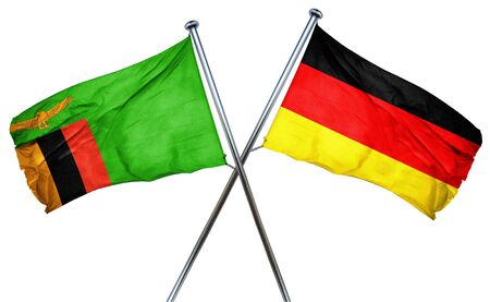 zambian: Zambia flag combined with germany flag