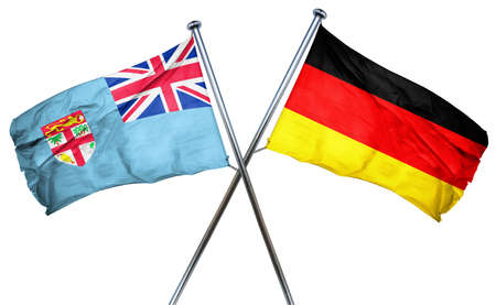 combined: Fiji flag combined with germany flag