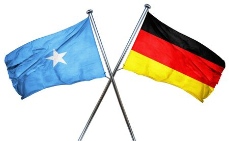 somalian culture: Somalia flag combined with germany flag