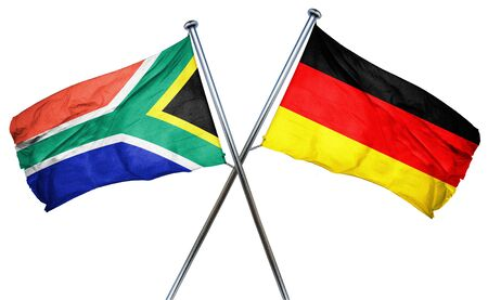 south africa flag: South africa flag combined with germany flag