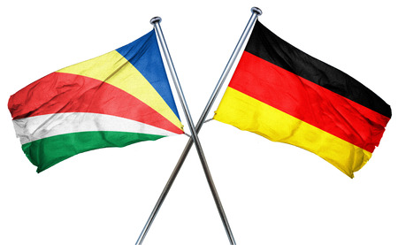 seychelles: seychelles flag combined with germany flag