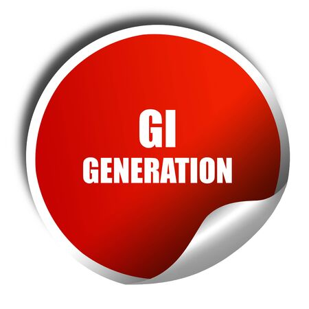 greatest: List of generations,The Lost Generation,The Greatest Generation,The Silent Generation., 3D rendering, red sticker with white text