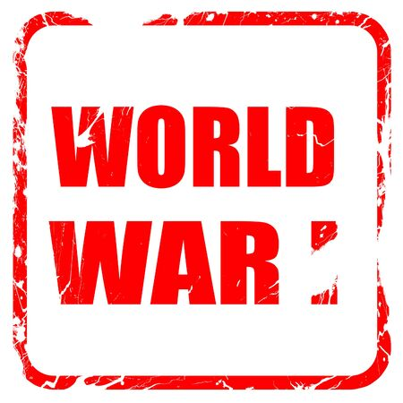 world war 1: World war 1 background with some smooth lines, red rubber stamp with grunge edges