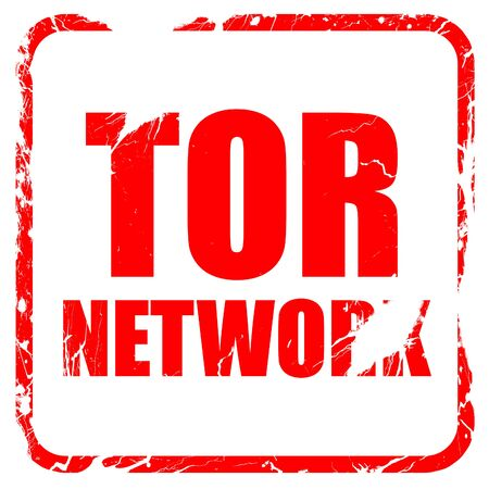 resisting: tor network, red rubber stamp with grunge edges