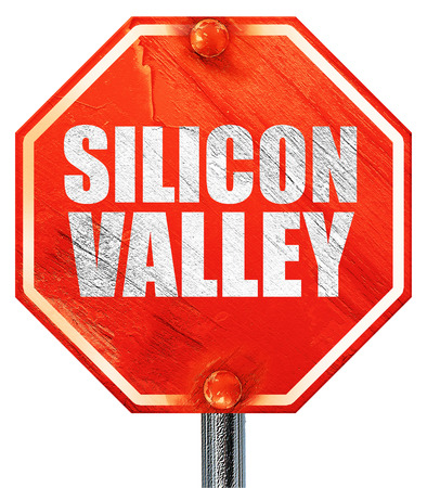 silicon: Silicon Valley, 3D, una señal de stop roja