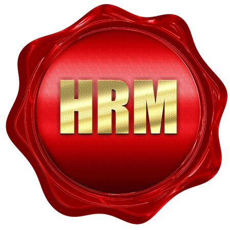 red wax: hrm, 3D rendering, a red wax seal
